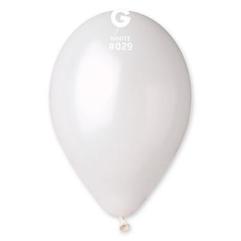 """12""""G Metallic White #029(50 count)"""