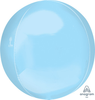 """21""""A Orbz Pastel Blue Jumbo (3 count)"""