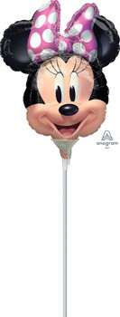 "10""A Minnie Mouse Forever Head (10 count)"