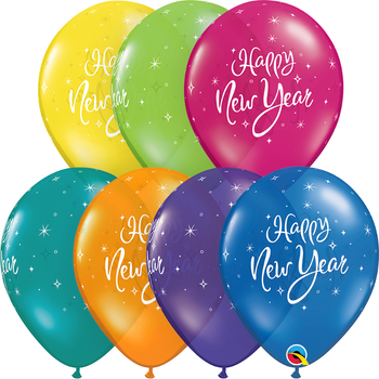 "11""Q New Year Sparkle Fantasy Assortment Print (50 count)"