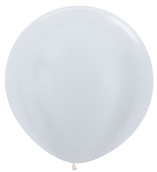 """36""""B Pearl White (2 count)"""