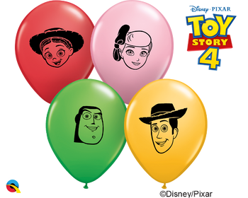 "5""Q Toy Story 4 Faces Print (100 count)"