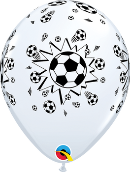 "11""Q Sports Soccer A Round Print (50 count)"