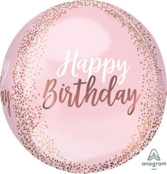 """16""""A  Orbz Happy Birthday Blush (5 count)"""