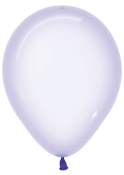 """5""""B Crystal Pastel Lilac(100 count)"""