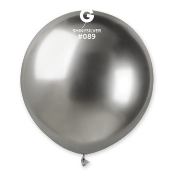 "19""G Shiny Silver #089 (25 count)"