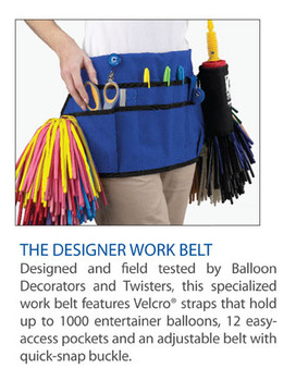 The Designer Work Belt / Balloon Apron