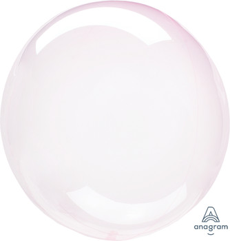 "10""A Crystal Clearz Light Pink (5 count)"