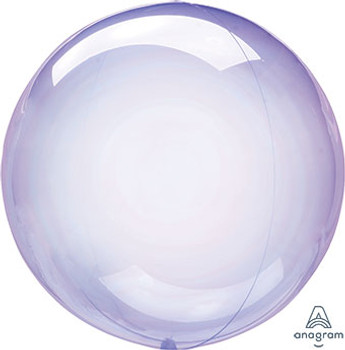 "18""A Crystal Clearz Purple (5 count)"