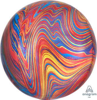 "16""A Orbz Marblez Colorful (3 count)"