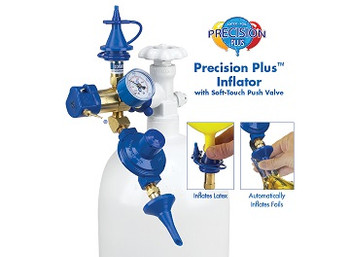 Regulator, Precision Plus Soft Touch Push Valve*