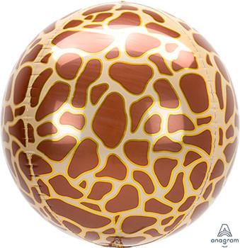 "16""A Orbz Animal Print Giraffe (3 count)"