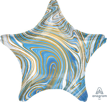 "19""A Marblez Star Blue(10 count)"