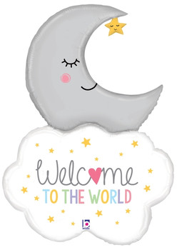 "42""B Welcome Baby Moon (1 count)"