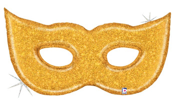 "51""B Glitter Gold Mask(1 count)"