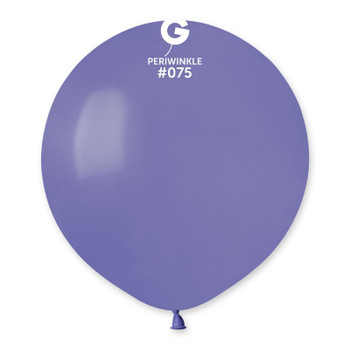 """19""""G Periwinkle #075(25 count)"""