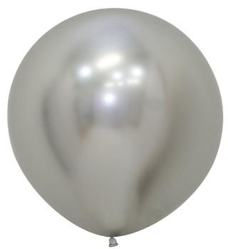 "24""B Reflex Silver (10 count)"