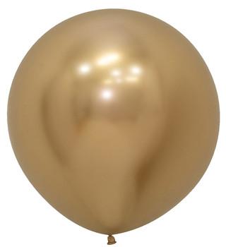 "24""B Reflex Gold (10 count)"