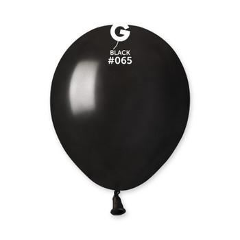 "5""G Metallic Black #065 (100 count)"