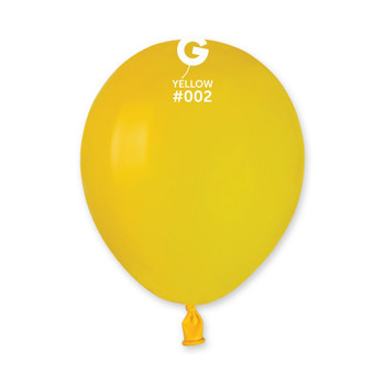 """5""""G Yellow #002 (100 count)"""