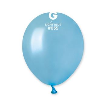 """5""""G Metallic Light Blue #035 (100 count)"""