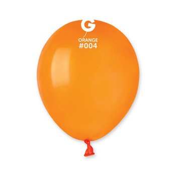 """5""""G Orange #004(100 count)"""