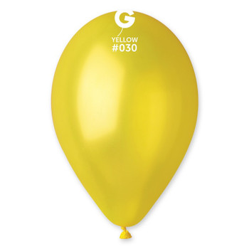 "12""G Metallic Yellow #030 (50 count)"