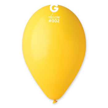 """12""""G Yellow #002 (50 count)"""