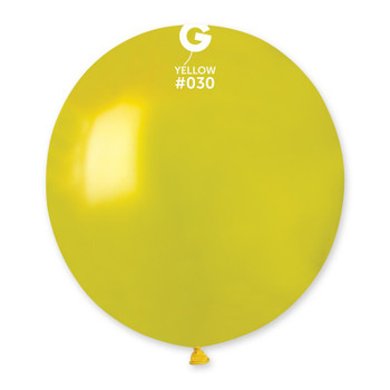 "19""G Metallic Yellow #030 (25 count)"