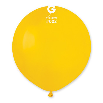 "19""G Yellow #002(25 count)"