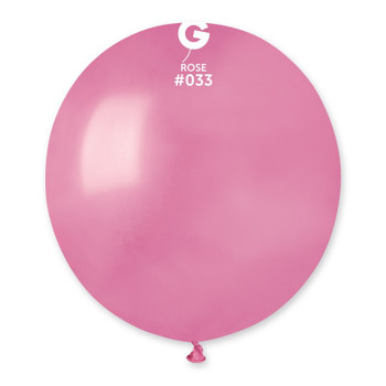 "19""G Metallic Rose #033 (25 count)"