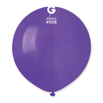 "19""G Purple #008(25 count)"