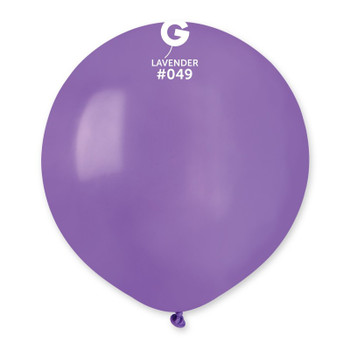 "19""G Lavender #049(25 count)"
