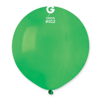 """19""""G Green #012 (25 count)"""
