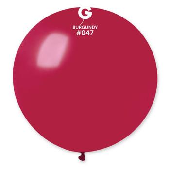"19""G Burgundy #047 (25 count)"