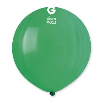 """19""""G Dark Green #013(25 count)"""