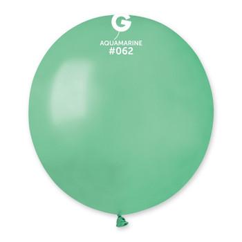 """19""""G Metallic Aquamarine #062 (25 count)"""