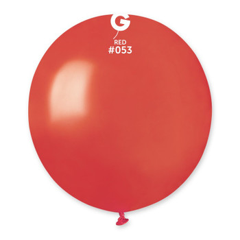 """19""""G Metallic Red #053 (25 count)"""