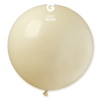 """31""""G Ivory #059 (2 count)"""