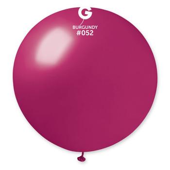 "31""G Metallic Burgundy #052(1 count)"
