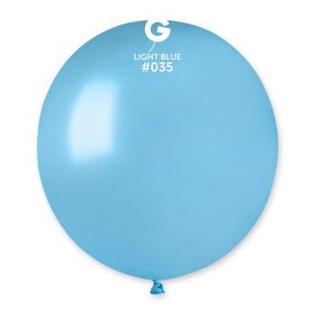 """31""""G Metallic Light Blue #035(1 count)"""