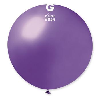"31""G Metallic Purple #034 (1 count)"