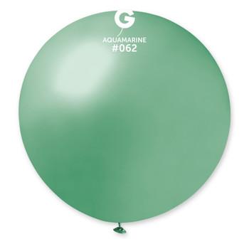 """31""""G Metallic Aquamarine #062 (1 count)"""