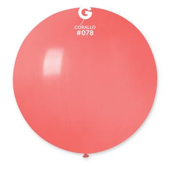 "31""G Coral #078 Pkg (1 count)"
