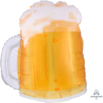 """23""""A Beer Mug See Thru (5 count)"""