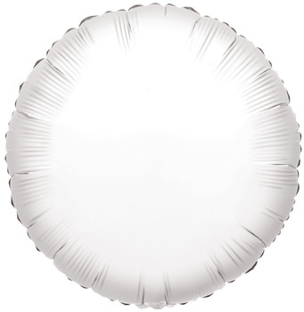 """4""""K Round White (10 count)"""