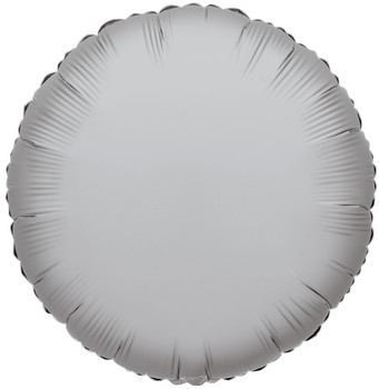 "4""K Round, Silver(10 count)"