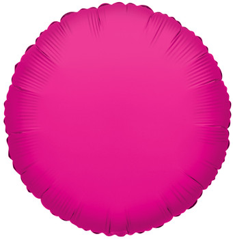 "4""K Round Hot Pink (10 count)"
