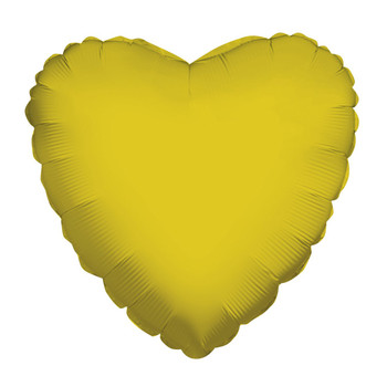 "9""K Heart, Gold(10 count)"