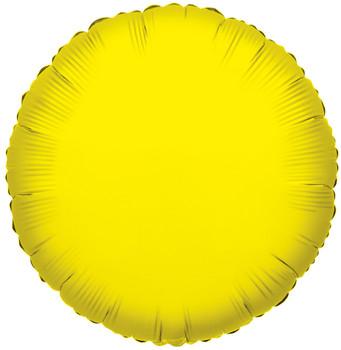 """9""""K Round, Yellow(10 count)"""